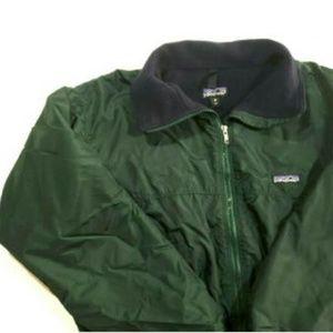 VTG Patagonia Small Green Nylon Bomber Jacket